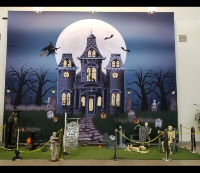 Halloween Banner for The Outlet Collection Mall
